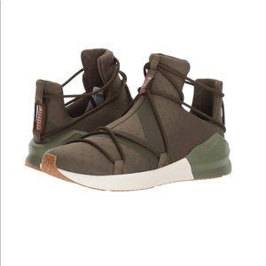 PUMA Fierce Rope VR Women's Olive Green Sneaker